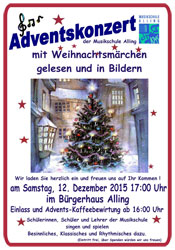 Adventskonzert in Alling